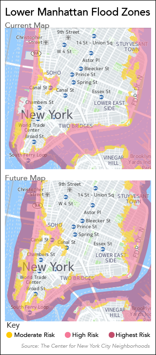FEMA To Revise HighRisk Flood Maps After NYC Appeal Law - Current fema flood maps