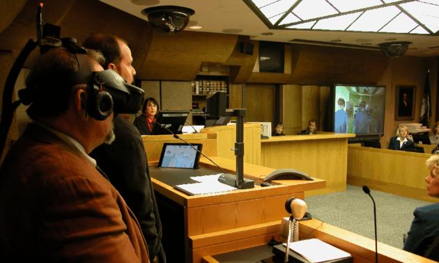Bildresultat för virtual reality in court
